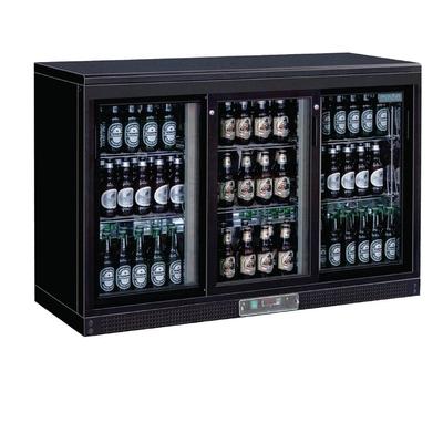 Arrière-bar portes coulissantes 273 bouteilles