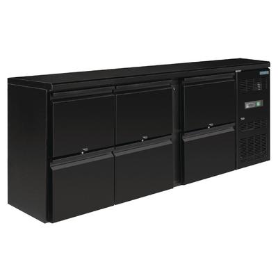 Arrière-bar 6 tiroirs 530L