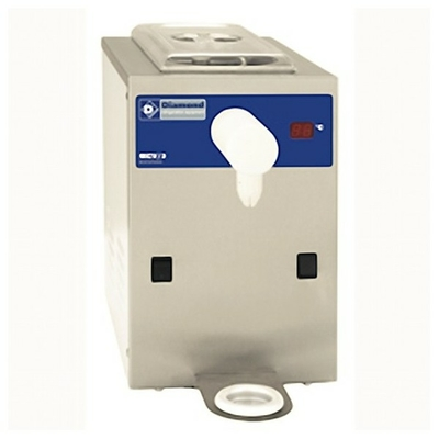 Machine réfrigérée à chantilly en inox, cuve 2 litres (100 l./h)