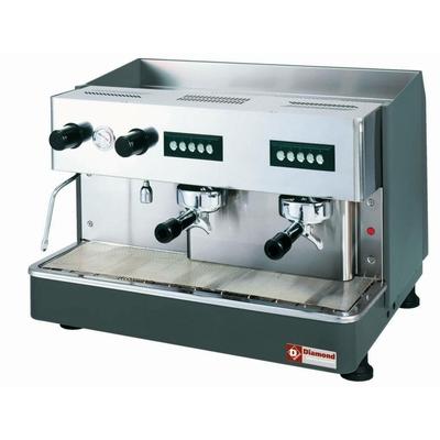 Machine à café expresso 2 groupes, automatique