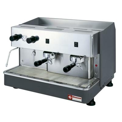 Machine à café expresso 2 groupes, semi-automatique