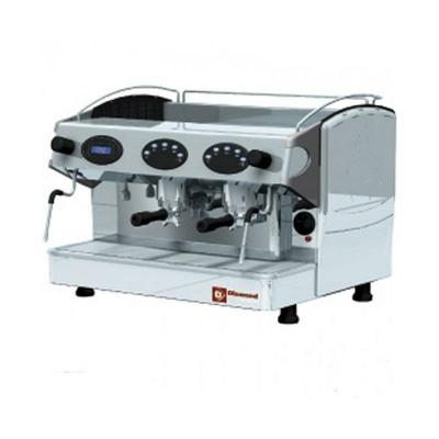 Machine à café expresso 2 groupes, avec display
