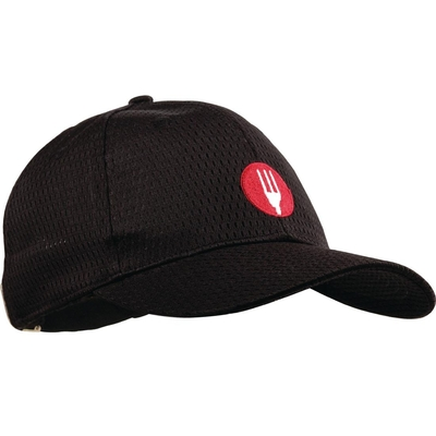 Casquette baseball Cool Vent Chef Works noire