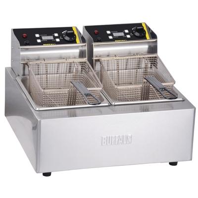 Friteuse de comptoir professionnelle double 2x 5L
