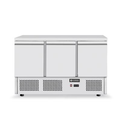 Réfrigerateur comptoir avec trois portes Kitchen Line  1365x700x(H)880