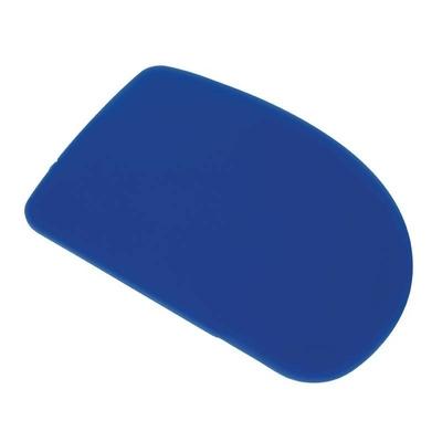 Corne à pâtisserie en plastique bleu