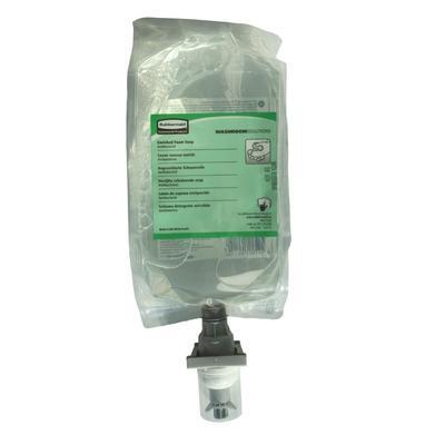 Sachets recharges de savon mousse anti-bactérien Rubbermaid par 4