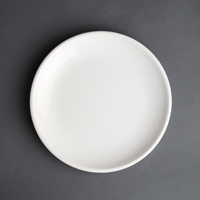 Assiette plate blanche Olympia Café 205mm par 12