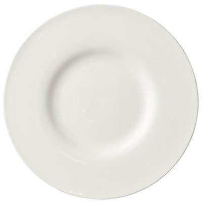 Assiette bord extra large Lumina 230mm lot de 6