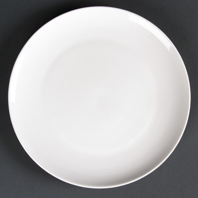 Assiettes rondes Lumina Fine China 305mm par 2