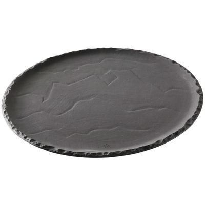 Assiettes à pizza Revol Basalt 285mm par 4