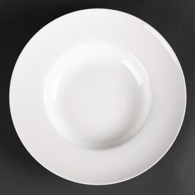 Assiettes creuses à soupe ou pâtes Lumina 205mm par 6