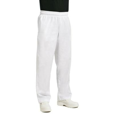 Pantalon de cuisinier Easyfit blanc