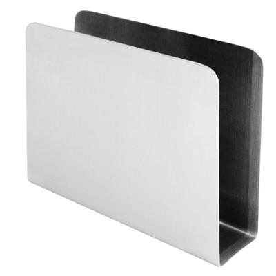 Porte-serviettes inox carré