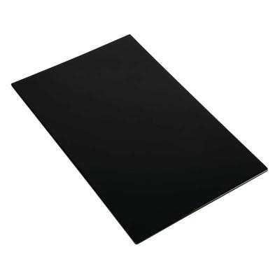 Plateau en mélamine APS Zero noir GN1/1