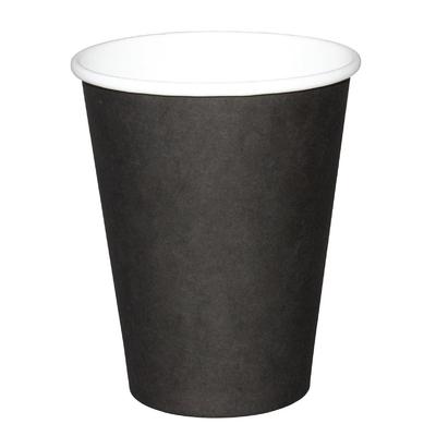 Gobelets jetables boissons chaudes Fiesta noirs 340ml x1000