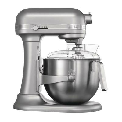 Mixeur professionnel KitchenAid gris métal 6.9L