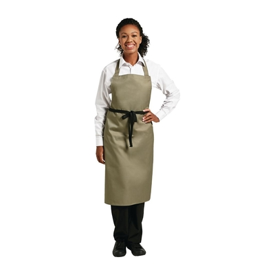 Tablier à bavette Whites polyester-coton olive