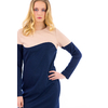 RB-0004-robe-bi-color-bleu-marine-et-beige-4