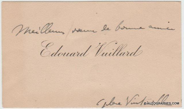 cdv-autographe-edouard-vuillard-1
