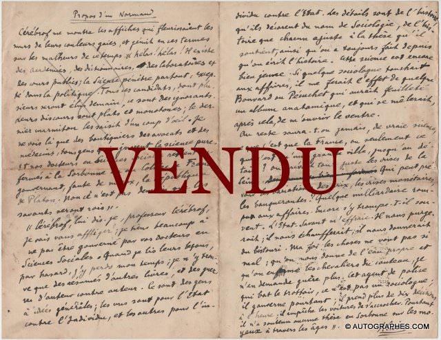 manuscrit-emile-chartier-alain1