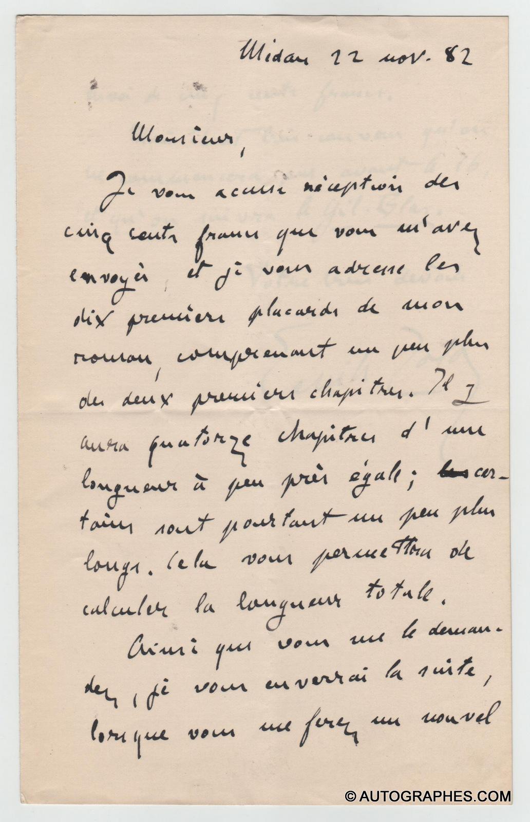lettre-autographe-signee-emile-zola-au-bonheur-des-dames-1