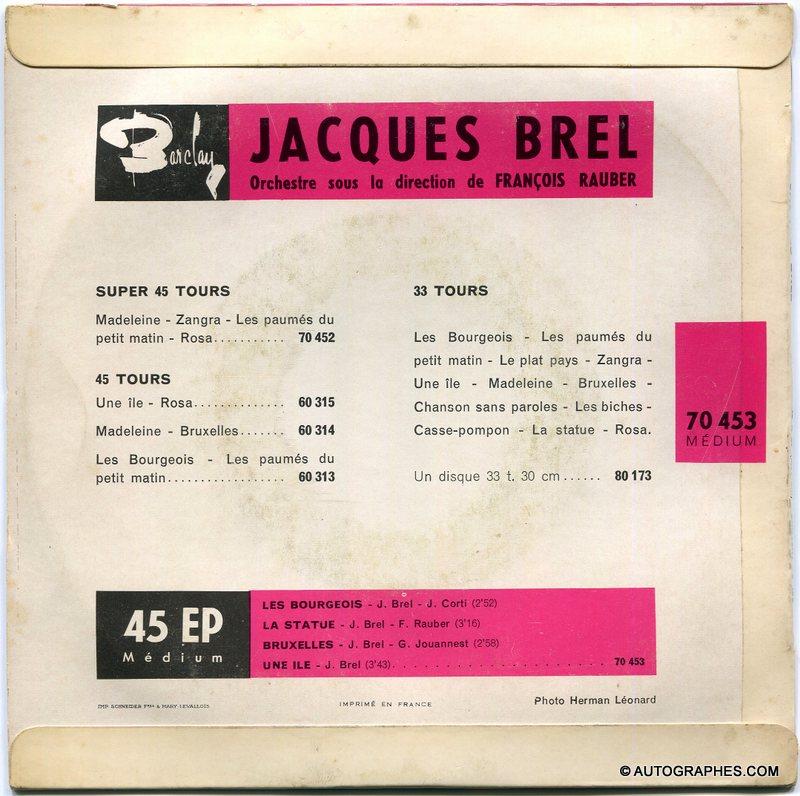 signature-autographe-jacques-brel-les-bourgeois-bruxelles-disque-super-45-tours-herman-leonard-2