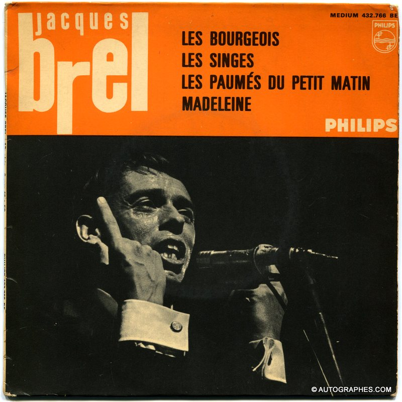 dedicace-autographe-signee-jacques-brel-les-bourgeois-madeleine-disque-super-45-tours-philips-2