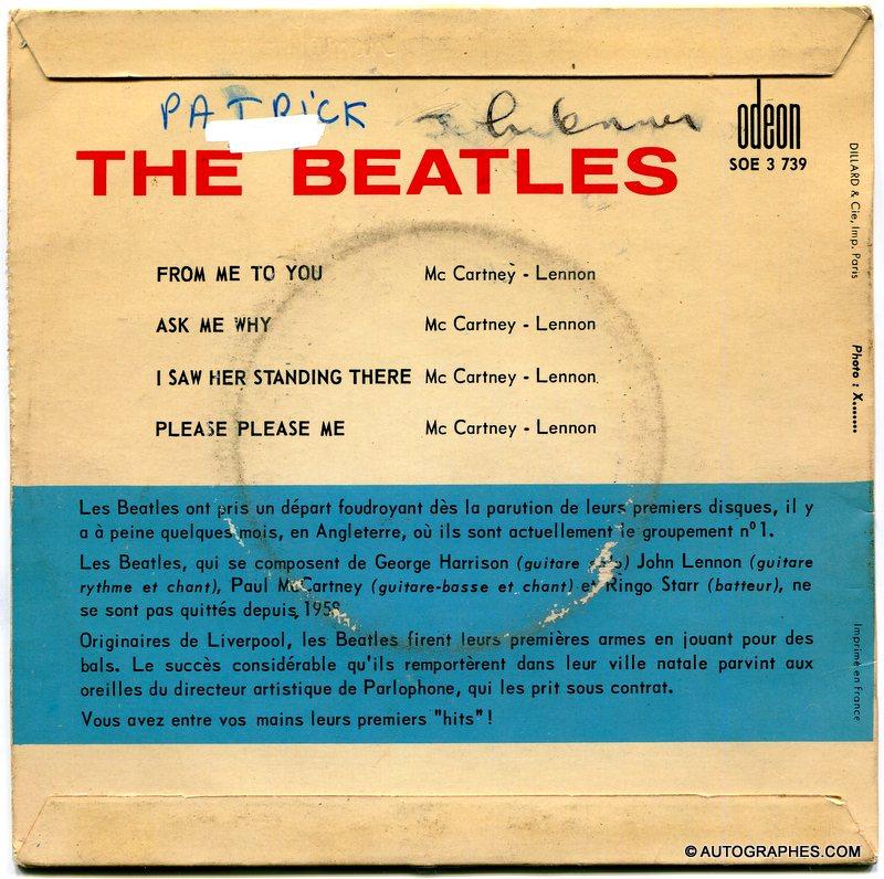 signature-autographe-john-lennon-sur-super-45-tours-From-Me-To-You-Beatles-2