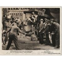 Louis ARMSTRONG - Photographie grand format dédicacée et signée (Artists and Models, 1937)