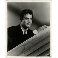 Tony CURTIS - Photographie originale grand format dédicacée et signée