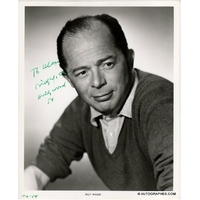 Billy WILDER - Photographie grand format dédicacée et signée (1954)