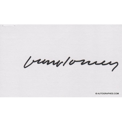 David HOCKNEY - Signature autographe