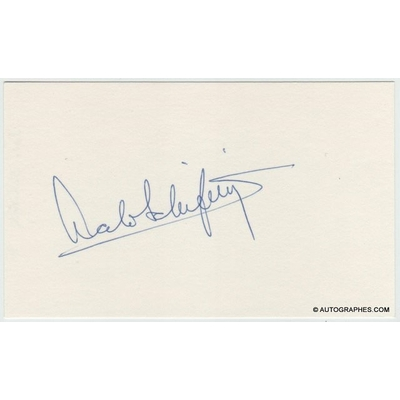 Lalo SCHIFRIN - Signature autographe