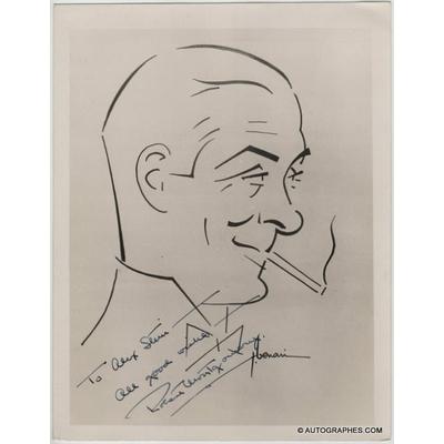 Robert MONTGOMERY - Photographie grand format dédicacée et signée