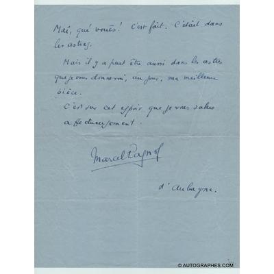 lettre-autographe-signee-marcel-pagnol-quinson-palais-royal-2
