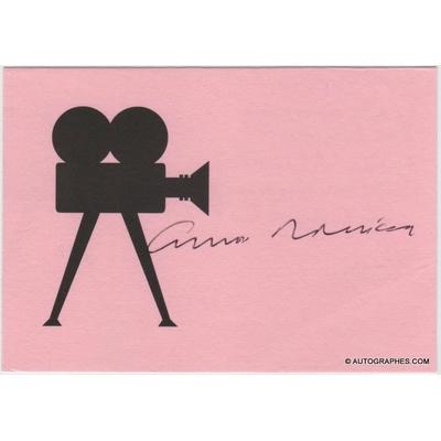 Ennio MORRICONE - Signature autographe