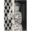 Line RENAUD - Photographie grand format dédicacée et signée (1959)