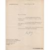 Lettre-dactylographiee-signee-general-de-gaulle-1964