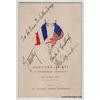 menu-dedicace-autographe-charles-lindbergh-herrick-lyautey-paris-bourget-1927