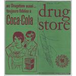 Menu-Drugstore-Publicis-signature-autographe-Edith-Piaf-2