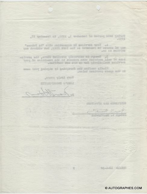 contrat-signature-autographe-joseph-mankiewicz-1-4