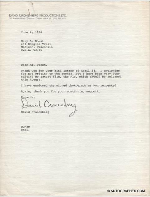 lettte-signature-autographe-david-cronenberg-1