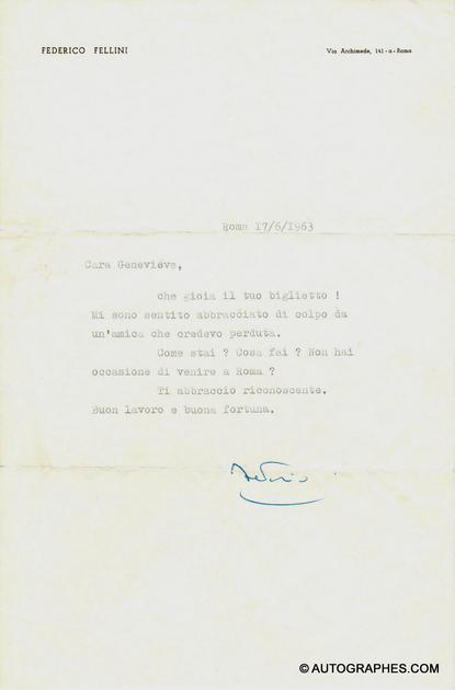 lettre-dactylographiee-signee-federico-fellini-1963