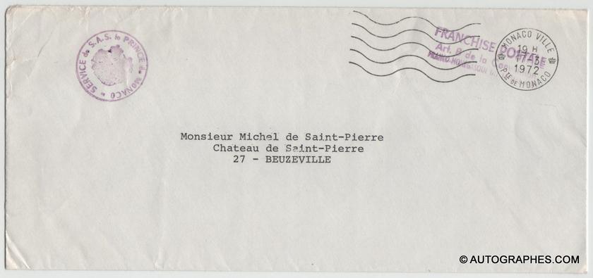 enveloppe-dactylographiee-princesse-grace-de-monaco-1972-1