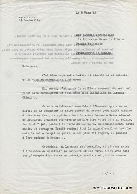 lettre-dactylographiee-michel-de-saint-pierre-princesse-grace-de-monaco-1972