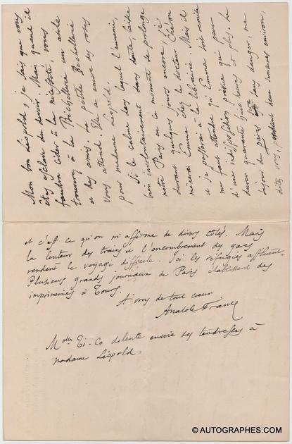 lettre-autographe-signee-anatole-france-la-bechellerie-1918-3