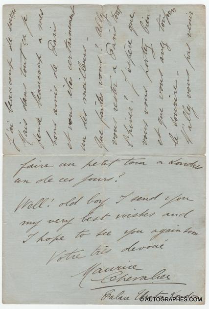 lettre-autographe-signee-maurice-chevalier-1919-2