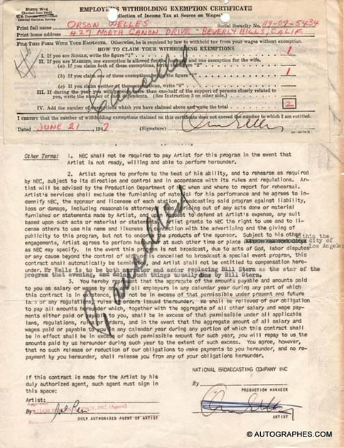 contrat-signature-orson-welles