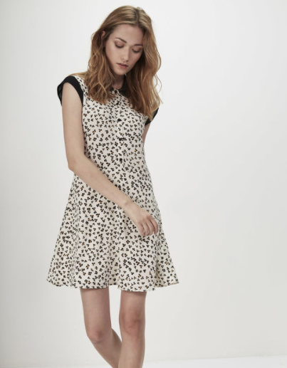 Robe léopard I.Code